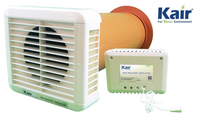 Room Ventilation Systems : Kair heat recovery room ventilator k hrv ventilation