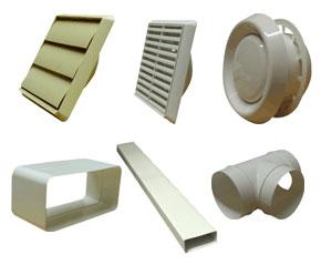 Kair Plastic Ducting Range