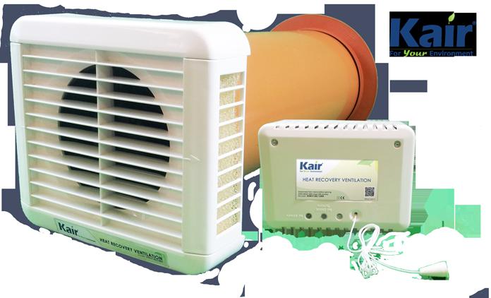 Kair Single Room Heat Recovery K-HRV150